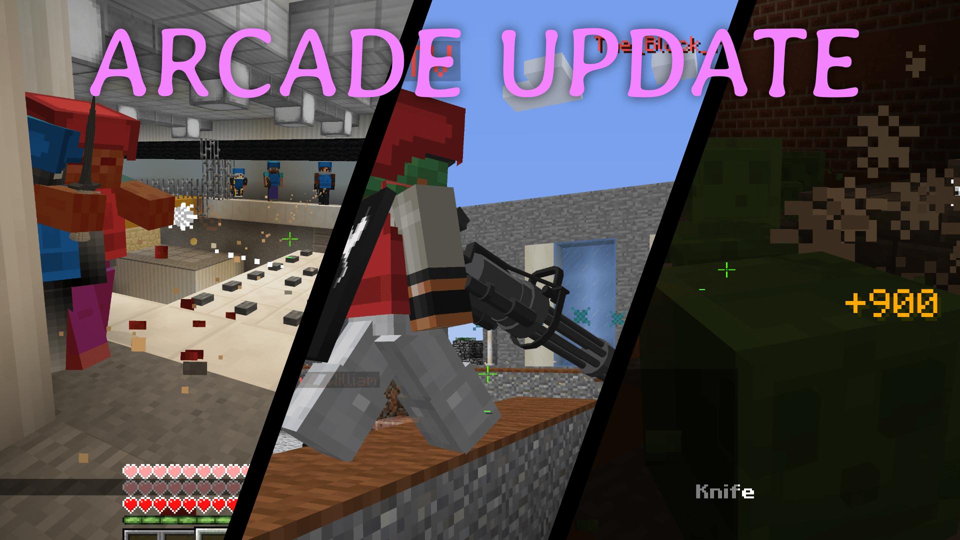 Arcade Update Banner